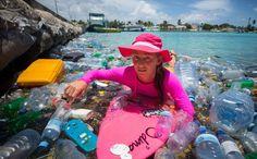 plastic beaches - Google Search