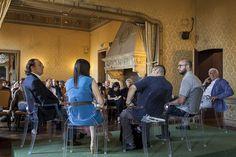 L'appuntamento al Circolo della Stampa per parlare del futuro del festival #AiC2016 #ascolto © Edoardo Piva