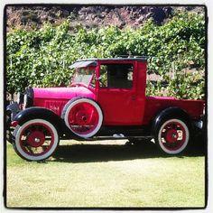 Classic car at Malibu Wines