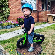 Start them young and give them a hobby for life 😍 18 Month Old, C 18, 18 Months, Bicycle, Thankful, Bike, Bicycle Kick, Bicycles