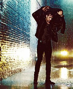 ryan in the rain