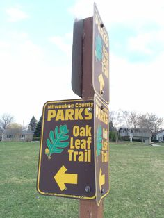 """The #OakLeafTrail is a paved 108-mile multi-use recreational trail which encircles Milwaukee County, Wisconsin. Clearly marked trail segments connect all of the major parks in the Milwaukee County Park System with a """"ribbon of green."""""""