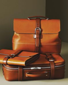 Discover the Twain. B briefcase crafted with purpose. #BallyCollection by bally_swiss