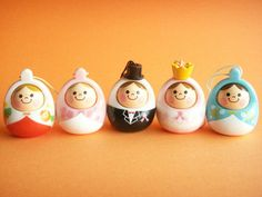 Kawaii Cute Small Unazukin Strap Charm Collection Japanese Toys by Kawaii Japan, via Flickr