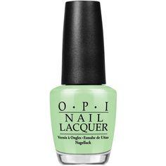 Opi Nail Lacquer, Gargantuan Green Grape found on Polyvore featuring beauty products, nail care, nail polish, nails, beauty, makeup, opi, fillers, gargantuan green grape and opi nail varnish