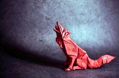 Artist Skillfully Folds Single Sheets of Paper Into Expressive Origami Animals