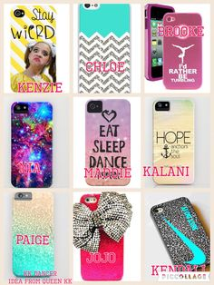 Comment your fave! Mine is Maddie's and Paige's