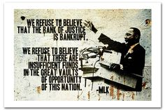 New Quote From Martin Luther King Banksy Art Print Posters A2 42 x 60 CM 01133