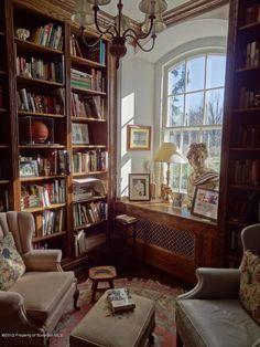 Trendy Home Library Room Study Shelves Ideas Home Library Rooms, Home Library Design, Home Design, Interior Design, Library Ideas, Dream Library, Cozy Home Library, Library Books, Read Books