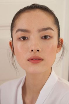 Fei Fei Sun backstage at Valentino Fall Haute Couture 2012