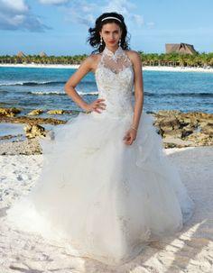 Demetrios Platinum Style DP247 by Demetrio Perfect for my destination wedding!