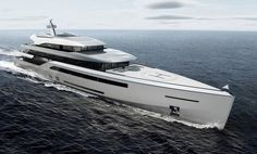 Designed with the intent of expressing a clean and refined form, the symbol par excellence of Italian design. Learn more about this and other super yachts, my visiting the link above. Explorer Yacht, Luxury Automotive, Small Yachts, Luxury Yachts, Catamaran, Luxury Lifestyle, Exterior Design, Innovation, Sailing