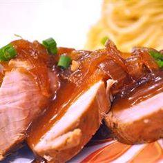 Slow Cooker Teriyaki Pork Tenderloin Allrecipes.com