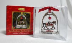 Breyer Winter Belle 2011 Holiday Horse Stirrup Ornament 700311 #Breyer Ebay Shopping, Horses, Ornaments, Winter, Holiday, Winter Time, Vacations, Holidays, Christmas Decorations