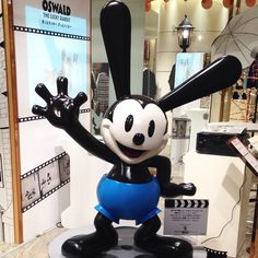 Oswald, the Lucky Rabbit:)
