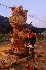 Chainsaw Art 木霊 | Gallery