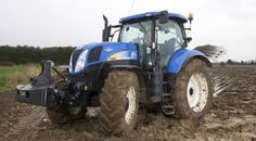 New Holland T6090 tractor being tested by Power Farming