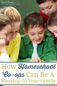 How Homeschool Co-ops Can Be A Blessing To Your Family - By Caroline Allen #Homeschool #CoOp #Family