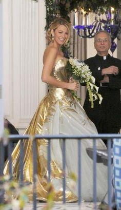 serena's wedding dress