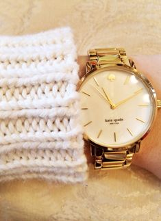 Kate spade gold watch www.womenswatchho… Kate spade gold watch www.womenswatchho… - My Accessories World Kate Spade Gold Watch, The Bling Ring, Timex Watches, Women's Watches, Watches Online, Michael Kors, Diamond Are A Girls Best Friend, Swagg, Luxury Watches