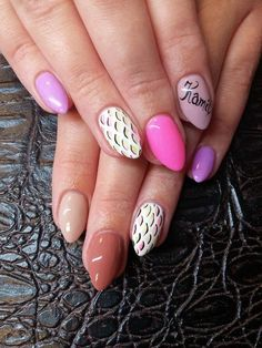 by Agnieszka Kamińska, Double Tap if you like #mani #nailart #pink Find more Inspiration at www.indigo-nails.com