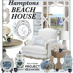 """Hamptons Beach House Contest"" by shae-alana on Polyvore"