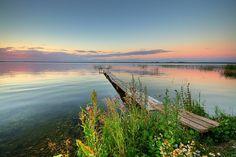 One more fantastic sunset at Raznas Lake. 18km from Rezekne. photo credit: zigmars berzins