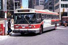 TTC TORONTO  FLYER E700  TROLLEY  COACH .