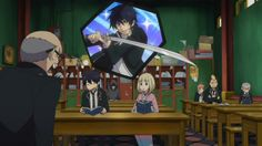 Lol typical of Rin to nod off in class and daydream about being a super cool Exorcist when he's practically failing his exorcism classes XD | Ao no Exorcist
