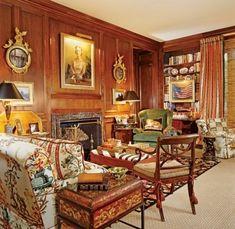 MARIO BUATTA DESIGNS A 1930S JOHN STAUB HOUSE IN HOUSTON