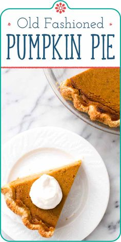 This is absolutely the BEST homemade pumpkin pie recipe! Make it with canned or fresh pumpkin puree and up to several days ahead. Also freezes well! Thanksgiving pie never looked so good or so easy. #Thanksgiving #Pie #ThanksgivingPie #Pumpkin #PumpkinPie #Dessert #Holiday #simplyrecipes Homemade Pumpkin Pie, Pumpkin Recipes, Pumpkin Puree, Fresh Pumpkin Pie Recipe, Homemade Desserts, Just Desserts, Delicious Desserts, Dessert Recipes, Punkin Pie Recipe