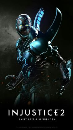 Blue Beetle from Injustice 2 Injustice 2 Characters, Comic Book Characters, Comic Character, Comic Books Art, Comic Art, New 52, Dc Universe, Teen Titans, Héros Dc Comics