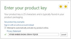 microsoft office home 2016 product key full version