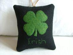 Okay time for an Irish pillow
