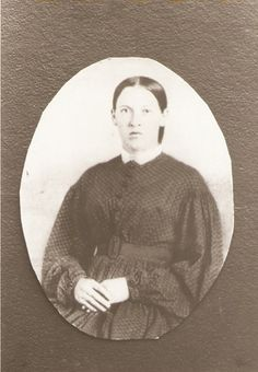 Mary Heil Pfeiffer 1848 - 1912 (John's sister and Nicholas Hile's daughter.)