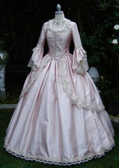 Sparkle Fantasy Marie Antoinette Gown with by RomanticThreads