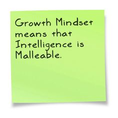 Growth Mindset: Let your brain take a beating sometimes. It won't break...free your mind don't and avoid clinging to your ego.