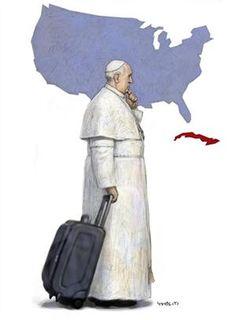 Un viaje, dos mundos: el Papa emprende su gira más política - 13.09.2015 - lanacion.com