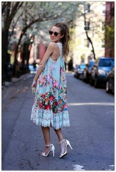 Repin Via: Allyssa Power #summerfemme #effortlesslychic #anthrops
