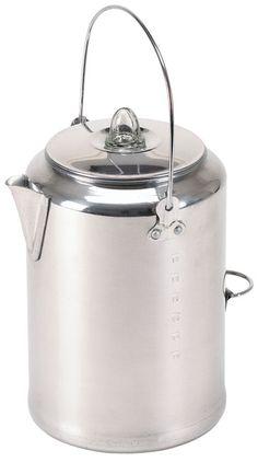 Aluminium coffee percolator - want one!