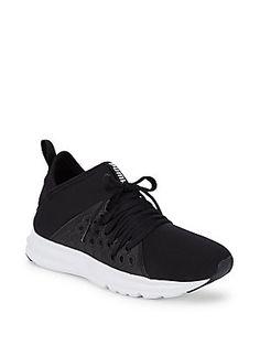 PUMA ENZO LOGO LACE-UP SNEAKERS.  puma  shoes   Pumas Shoes bb4e92add