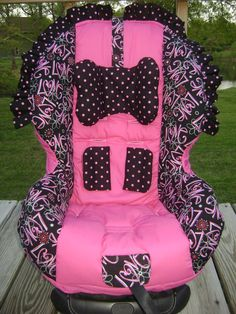 Toddler Car Seat Cover by LillypadsBullfrogs on Etsy, $99.00
