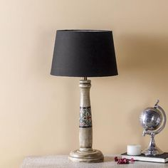 Choose from a vast range of Lighting Products like table lamps, pendant lamps, candle stands, lanterns & more. Lamp, Luxury Table Lamps, Wooden Floor Lamps, Wooden Lamp, Vintage Lamps, Luxury Lamps, Handcrafted Lamp, Painted Table, Floor Lamp Design