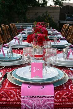 Indian Weddings Inspirations. Red Tablescapes. Repinned by #indianweddingsmag indianweddingsmag.com