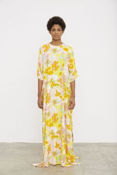 @roressclothes clothing ideas #women fashion maxi dress Marimekko Spring/Summer 2016  #Marimekko #SS16: