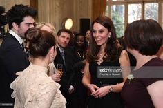 (NO UK SALES FOR 28 DAYS) Catherine,Duchess of Cambridge attends a reception at the British Embassy on March 17, 2017 in Paris, France. The Duke and Duchess are on a two day tour of France.  (Photo by Pool/Samir Hussein/WireImage)