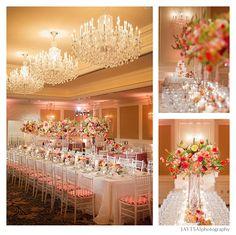 La Tavola Fine Linen Rental: Crinkle White | Photography: Jaytsai Photography, Wedding Coordinator: Frances Liu of Charmed Events Group, Floral Design: Nicole Ha Designs