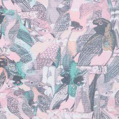 MARIA FILÓ - Regata estampa pássaros