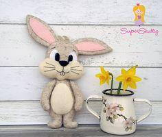 Patrón de rubí se sentía el conejo animal de por SuperSkattig