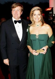 The king and queen of netherlands